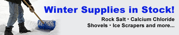 Winter Supplies in Stock