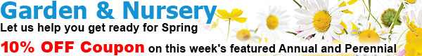 Garden & Nursery - 10% OFF Coupon
